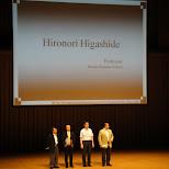 hironori higashide in Yoyogi, Tokyo, Japan