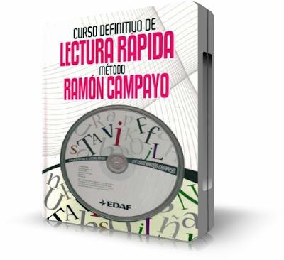 Curso Definitivo de Lectura Rápida, Método Ramón Campayo [ Libro + Software ] – Aprenda fácilmente la técnica de lectura rápida más eficaz que existe