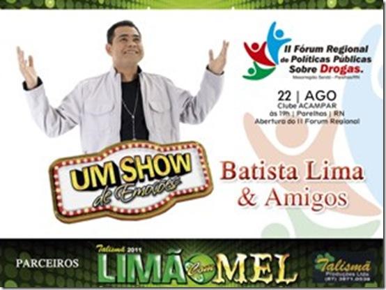 Show pela Vida - Batista Lima