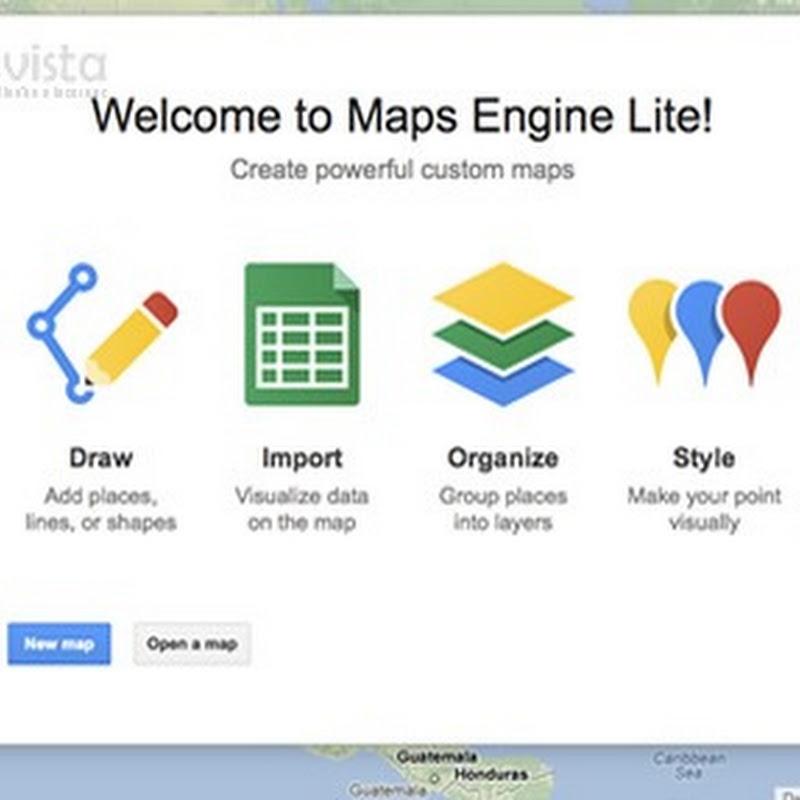 Maps Engine Lite: Crear Mapas Personalizados Y Exactos En