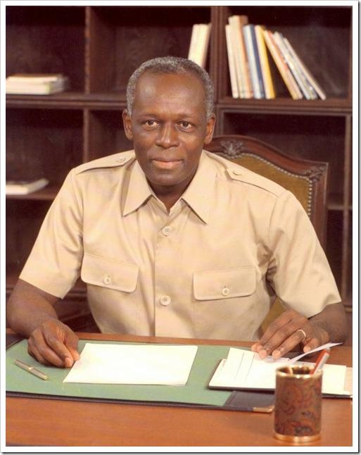 Presidente da República de Angola - Jose Eduardo dos Santos