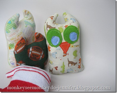 Owl Stuffie and pattern (23)