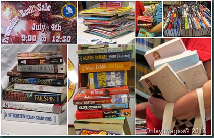 book sale collage3