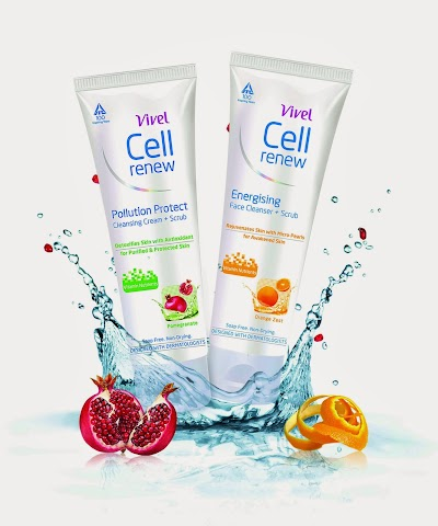 Cell Renew Face Wash range