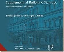 Supplemento al bollettino statistico. Febbraio 2015