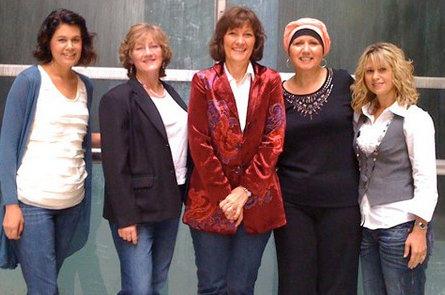 ACFW Girls STanding 2010