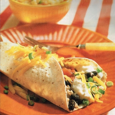 Black Bean-and-Rice Burritos