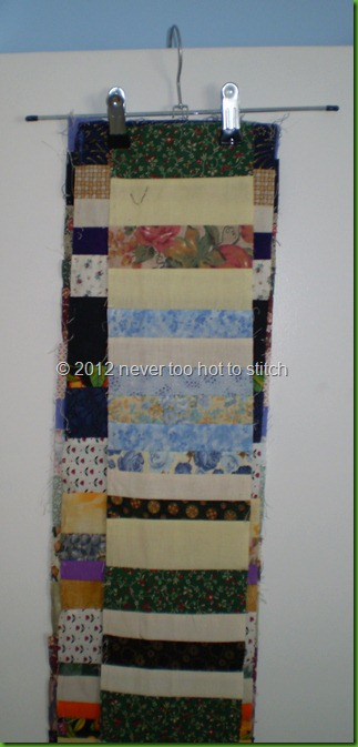two quilts strings storage