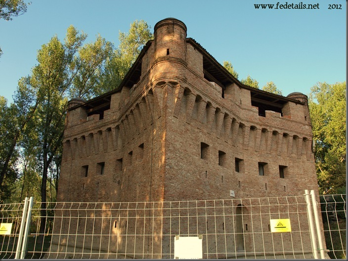 Rocca possente di Stellata al Made Expo 2 , Ferrara, Emiliaromanga, Italy - Property and Copyright of www.fedetails.net