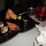 sushi rolls in Toronto, Ontario, Canada