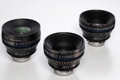 Carl Zeiss CP.2 Super Speed Cinema Lenses