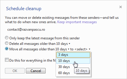 Hotmail-schedule-cleanup