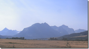 Glacier National Park from the Northern Plains