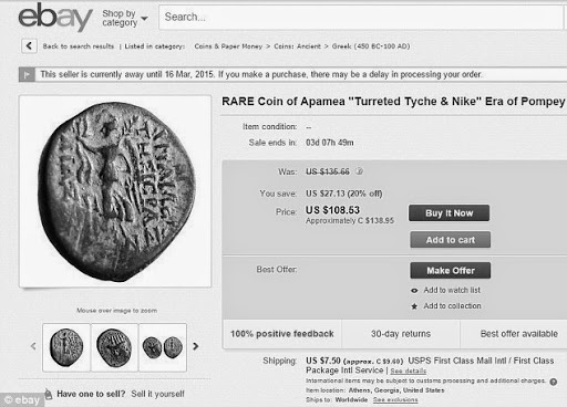 eBay'de Satılık Sikke