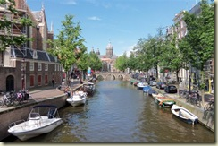 Nicolaaskerk at the end of the canal (Small)