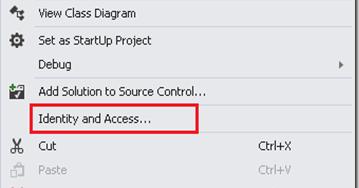 visual studio how to add configuration tool