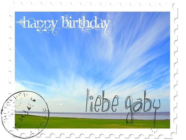 Happy Birthday Gaby