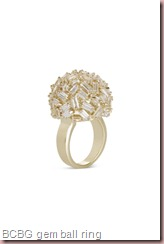 BCBG GEM-BALL RING