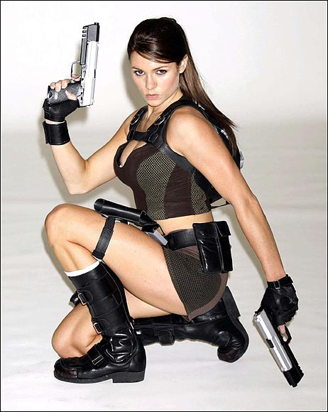 New Lara Croft model sighted