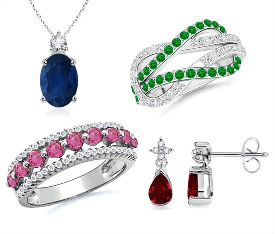 The Gemstone Jewelry at Angara.com