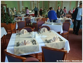 Ресторан отеля Рогашка, Словения. www.timeteka.ru