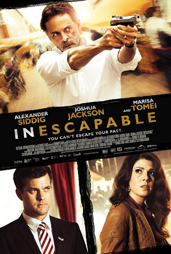Filme Poster Inescapable DVDRip XviD & RMVB Legendado
