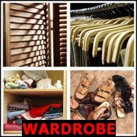 WARDROBE- Whats The Word Answers