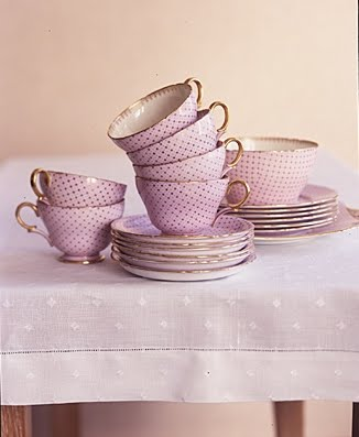 Dessert tea cup sets. (Martha Stewart Living)
