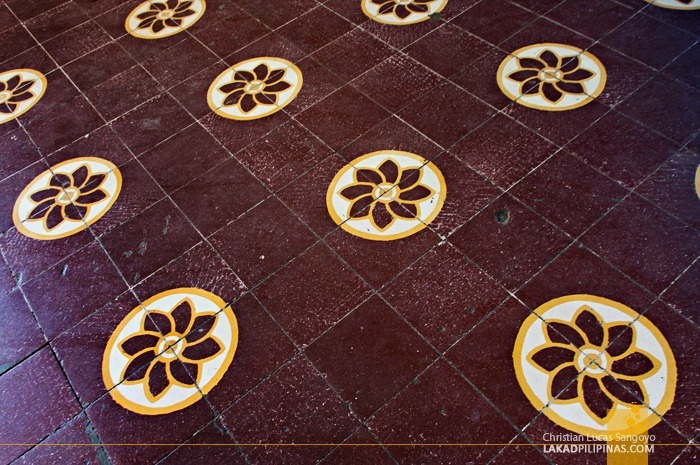 Ornate Tiles of Dipolog Cathedral