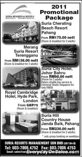 suria-resorts-promotion-2011-EverydayOnSales-Warehouse-Sale-Promotion-Deal-Discount