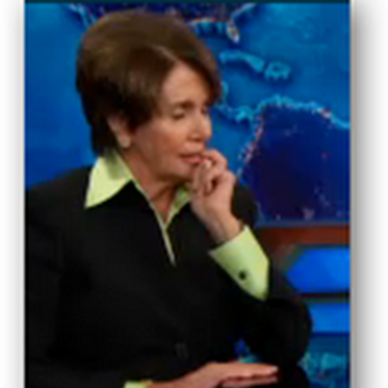 "Nancy Pelosi on Obamacare And The Website ""It's Not My Responsibility"" We Just Work Hard and Pass Bills, Blame Sebelius at HHS…Jon Stewart At the Daily Show"