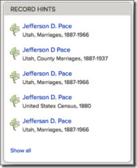 Hinting is coming soon to FamilySearch Family Tree
