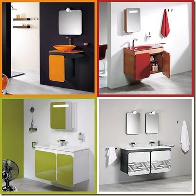 muebles para baños modernos-t