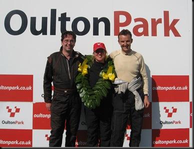 Oulton Park Podium