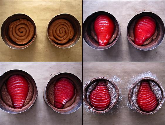 tarte bourdalou choco framboise