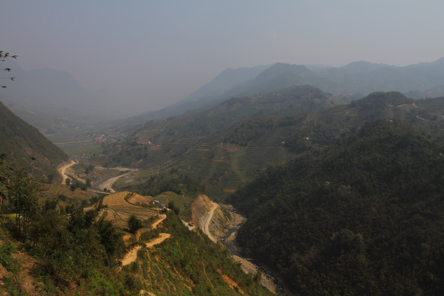 Scenic Hikes through the villages around Sapa, Vietnam