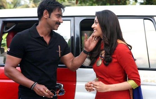 Ajay Devgan Singham Movie Wallpapers | Singham Film 2011 : Singam Kajal Aggarwal Latest Wallpapers : singham kajal-ajay wallpapers : latest rohit shetty films