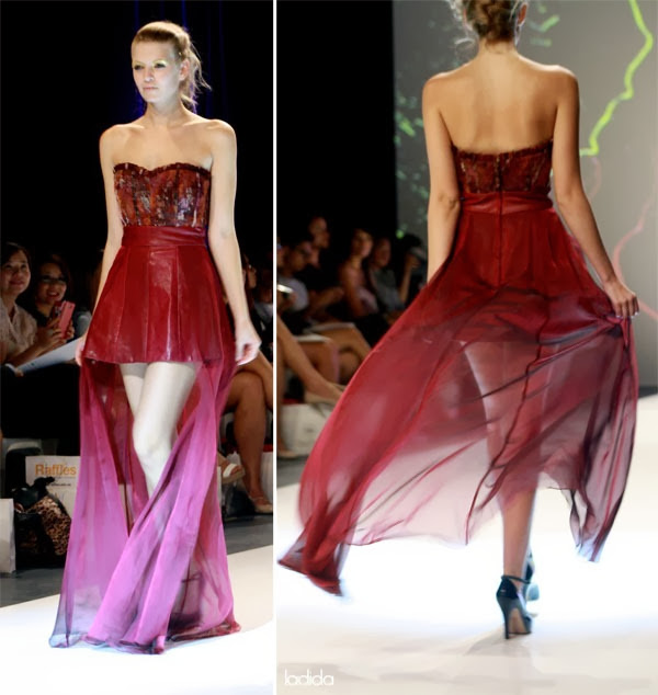 Raffles Graduate Fashion Show 2013 - Natalie Cheung