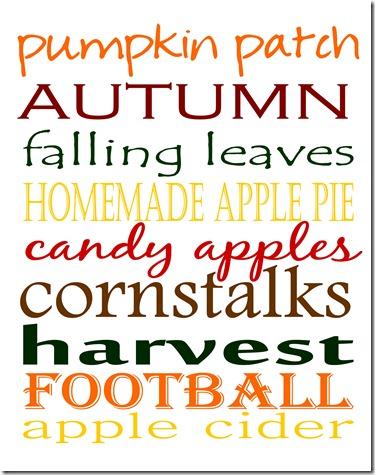 Fall Printable 2 - 8x10