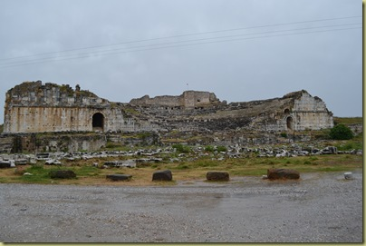 Miletus first view of theatre