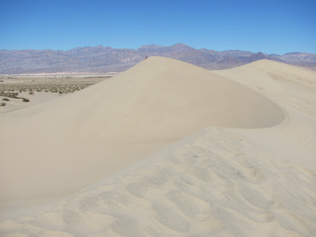 Death Valley California: Pe traseul montan