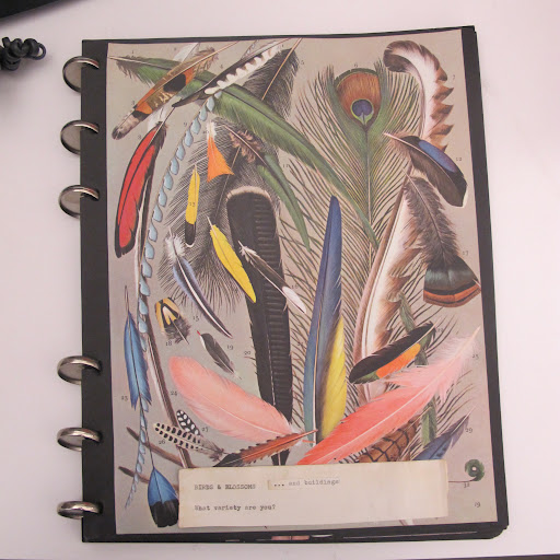 Who says eye-candy can't be useful? I love the fanciful designs on this journal.