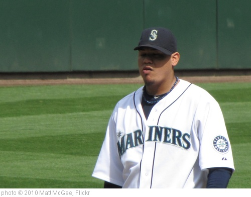 'Felix Hernandez' photo (c) 2010, Matt McGee - license: http://creativecommons.org/licenses/by-nd/2.0/