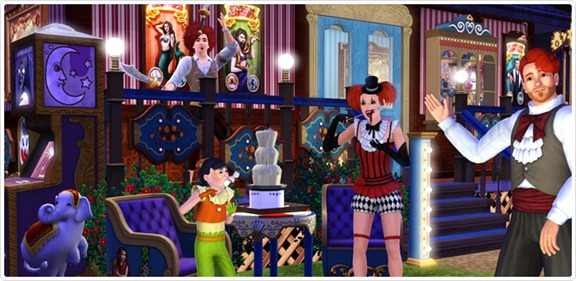 Celebração Le Cirque!