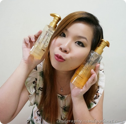 Loreal sparkling shampoo and conditioner review