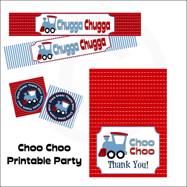 Choo Choo Printable Party