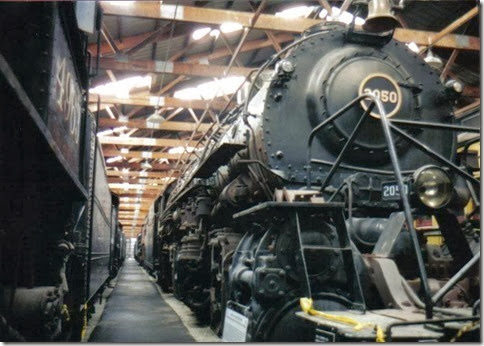 Norfolk & Western Y3A 2-8-8-2 #2050 at the Illinois Railway Museum on May 23, 2004