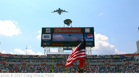 'Fly Over Jacksonville Jaguars Stadium' photo (c) 2007, Craig ONeal - license: http://creativecommons.org/licenses/by-sa/2.0/