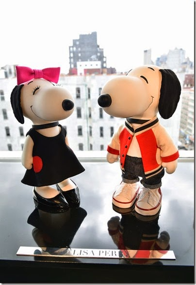 Peanuts X Metlife - Snoopy and Belle in Fashion Exhibition Presentation (Source - Slaven Vlasic - Getty Images North America) 06