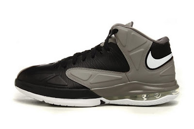 nike air max ambassador 5 gr black grey white 1 01 Nike Ambassador V   Black / White / Sport Grey
